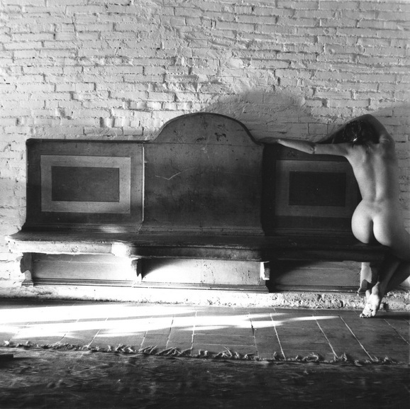 Francesca Woodman - November has been a slightly uncomfortable baroque