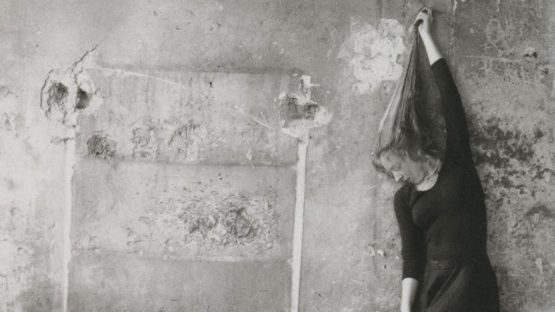 Francesca Woodman - Self-portrait of the artist - Photo Credits Pinterest