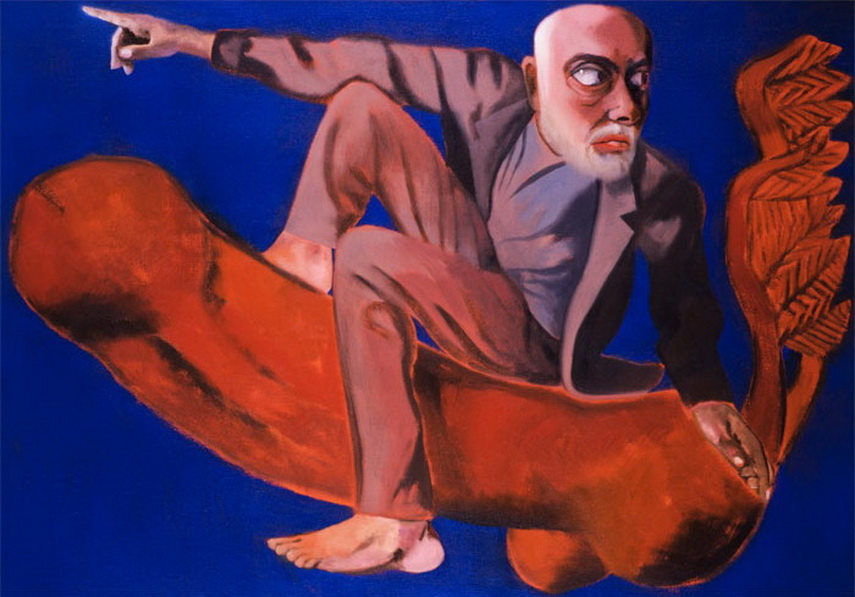 Francesco Clemente - Self-portrait in an Imperial Age, 2005