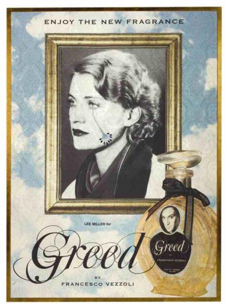 Francesco Vezzoli-Enjoy The New Fragance (Lee Miller For Greed)-2009