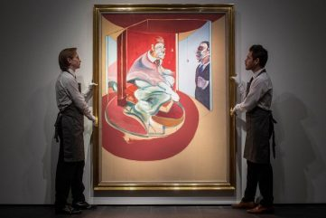 Francis Bacon's Study of Red Pope - The Next Most Expensive Artwork Sold in Europe?