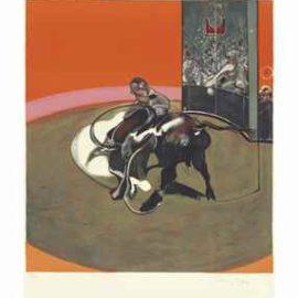 Francis Bacon-Study for Bullfight No 1 (Etude pour une corrida)-1971