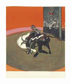 Francis Bacon-Study for Bullfight No 1 (Etude pour une corrida)-1971