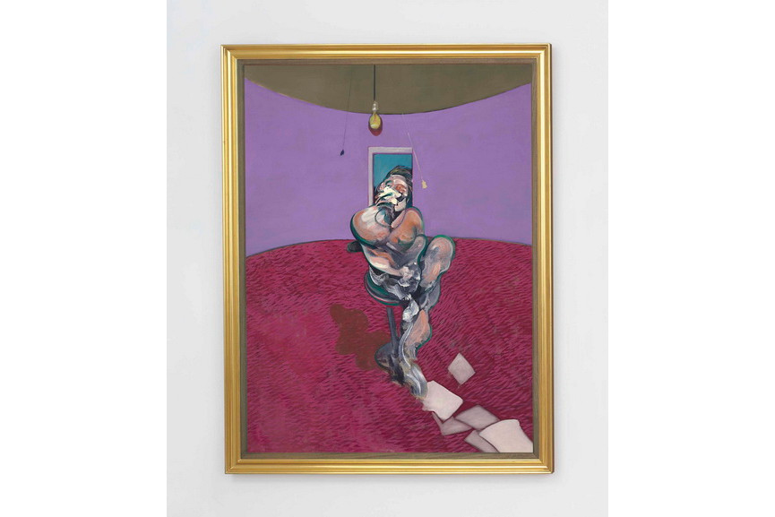 Francis Bacon - Portrait of George Dyer Talking