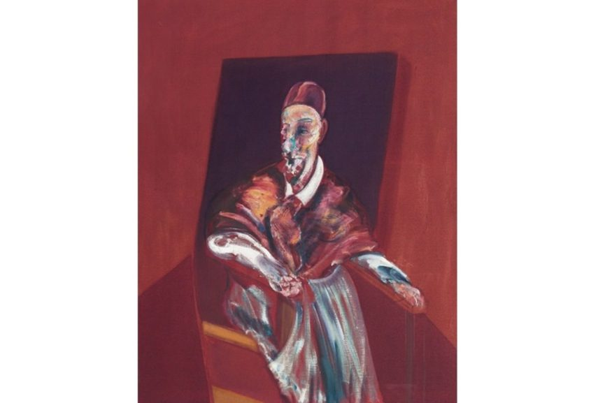 Francis Bacon was one of the most influential British artists known for the depiction of unusual seated figures in his paintings