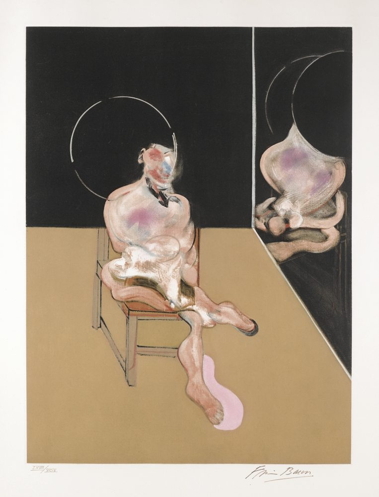 Francis Bacon-Seated Figure-1983