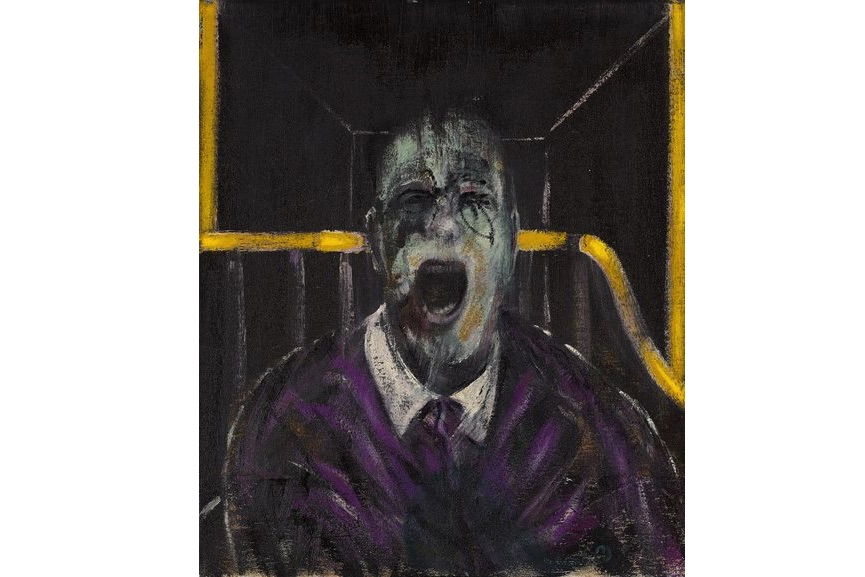 Francis Bacon - Study For A Head , 1952