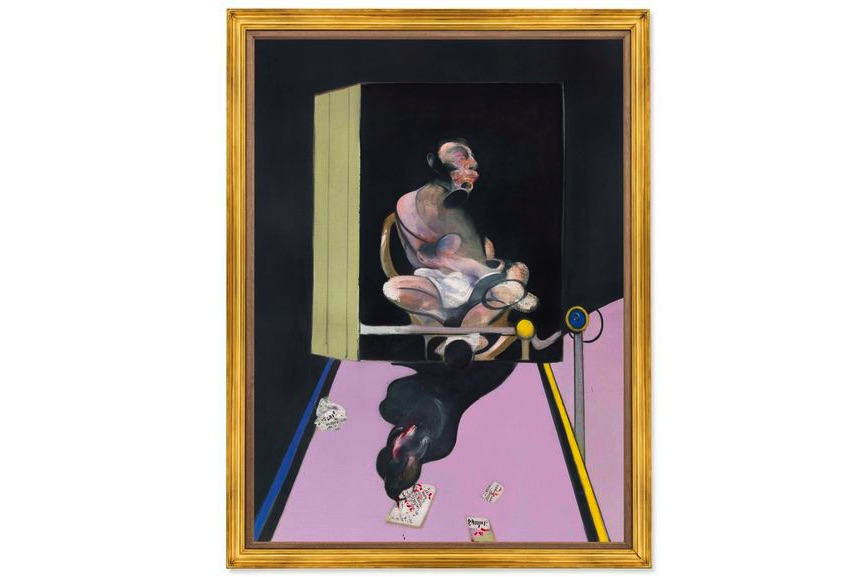 Francis Bacon - Study For Portrait, 1977