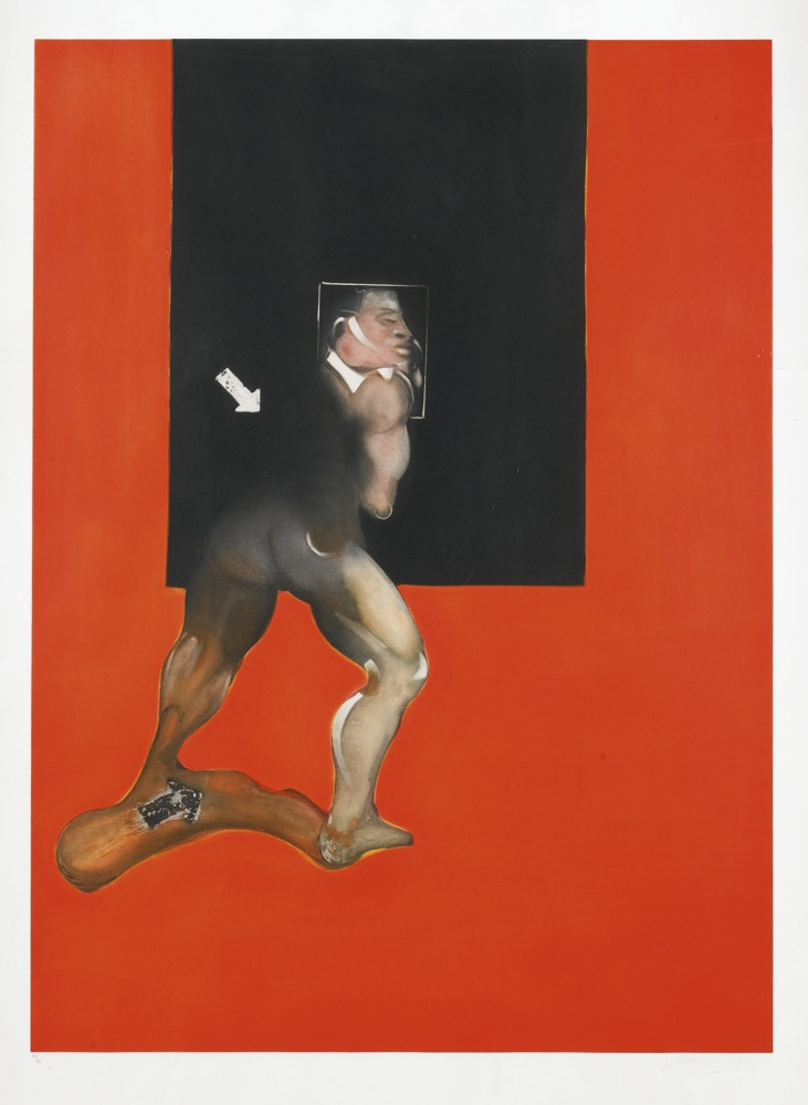 Francis Bacon-Study From Human Body No.2 (S. 8)-1992