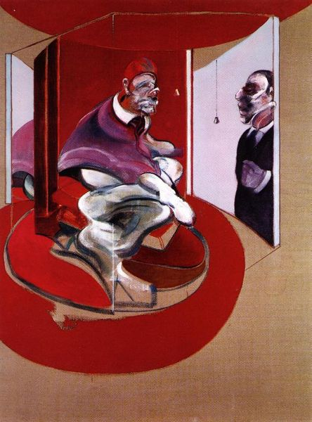 Study of Red Pope, 1962