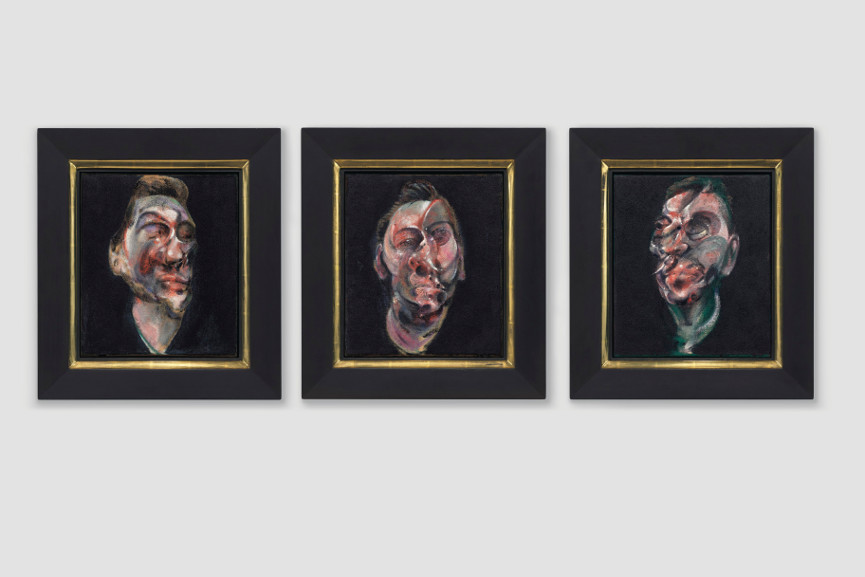 Francis Bacon - Three Studies For A Portrait Of George Dyer, 1963
