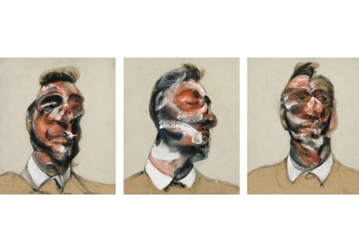Francis Bacon paintings and life are closely connected