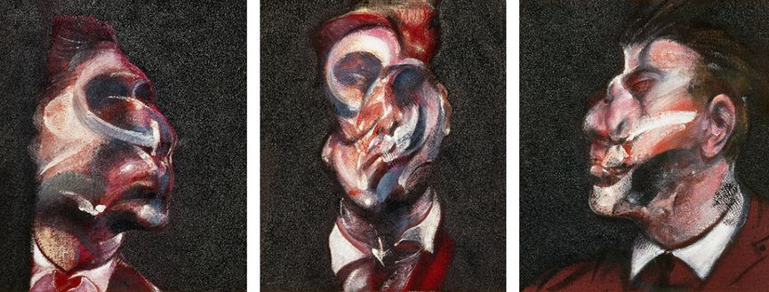 Francis Bacon - Three Studies of George Dye, 1963