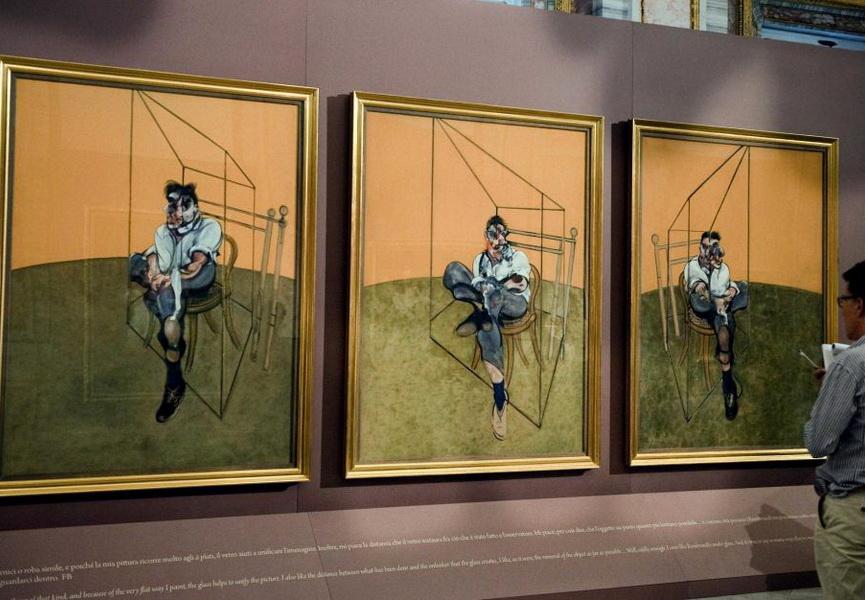 Francis Bacon Three Studies of Lucian Freud