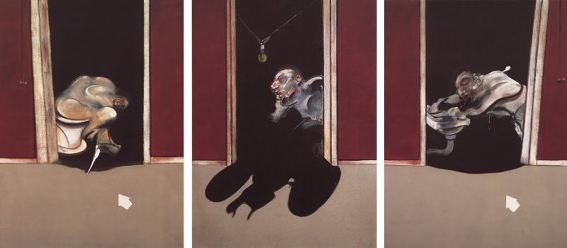 Francis Bacon - Triptych May-June, 1973 - Copyright Estate of Francis Bacon
