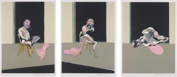 Francis Bacon-Triptyque Aout 1972 (after, Triptych August 1972)-1979
