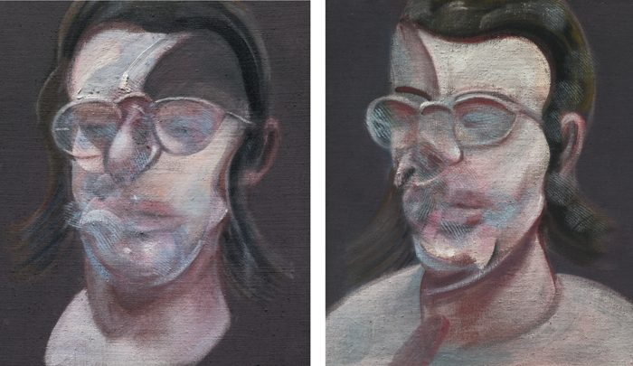 Francis Bacon-Two Studies For Portrait Of Clive Barker-1978