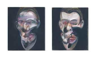 Francis Bacon-Two Studies for Portrait-1976