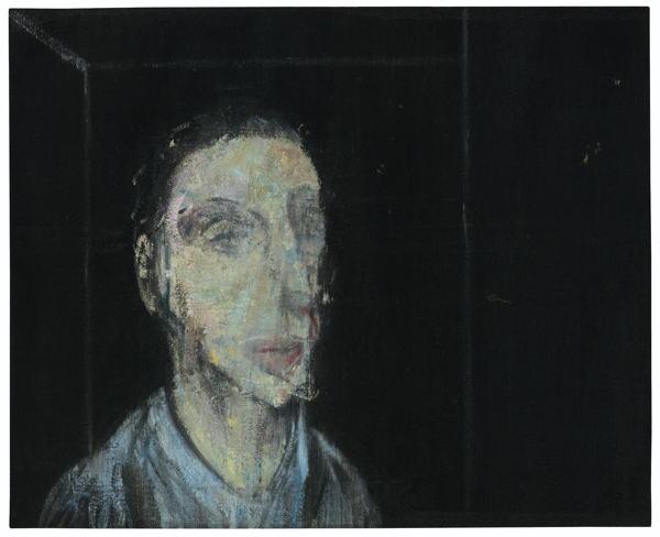 Francis Bacon-Untitled (Head Of A Woman - Lisa Sainsbury)-1957