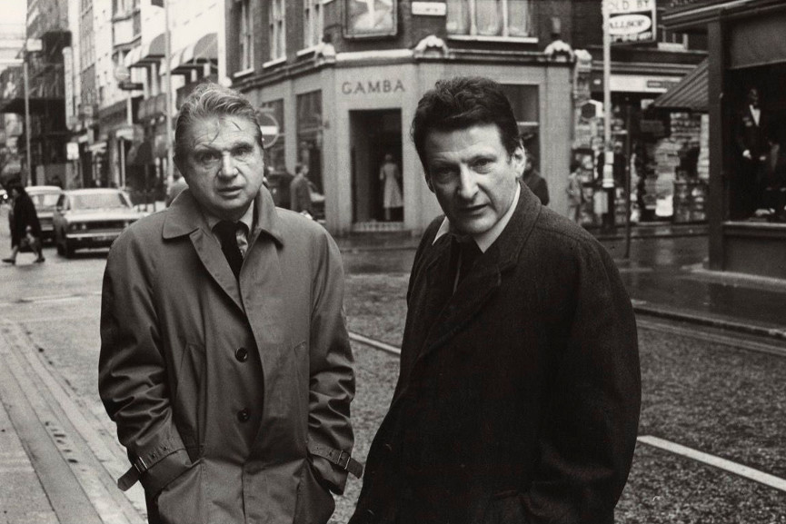 Francis Bacon and Lucian Freud, 1974