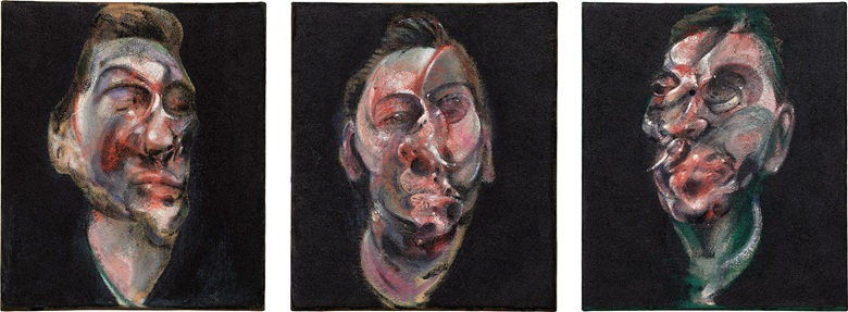 Francis Bacon's Three Studies of George Dyer, 1966