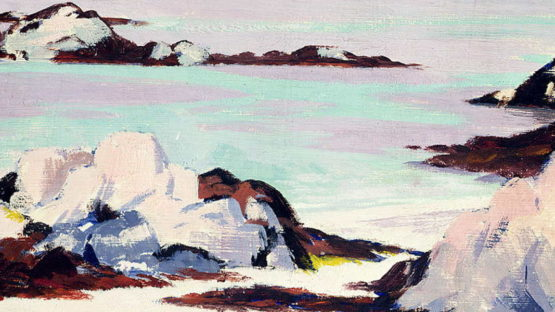 Francis Campbell Boileau Cadell - Island Of Iona (detail)