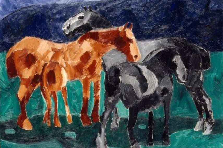 Whether it's one print or more prints, it's never a bad choice to buy horse paintings and portraits