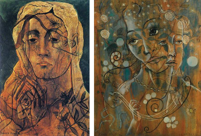 Two images of works made by Picabia that show why the artist was such a hit in just about any 1930s french gallery