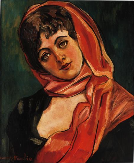 Francis Picabia-Visage de Femme-1942