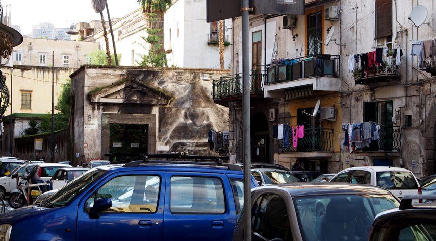 Francisco Bosoletti - Speranza Nascosta, Naples, 2016 - Image courtesy of the artist