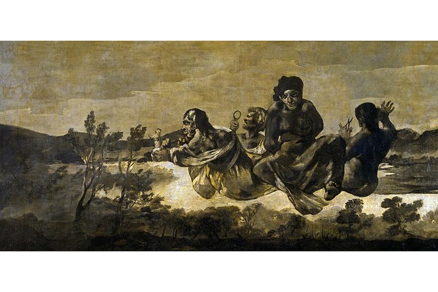 Francisco Goya - Átropos o Las Parcas, between 1819 and 1823