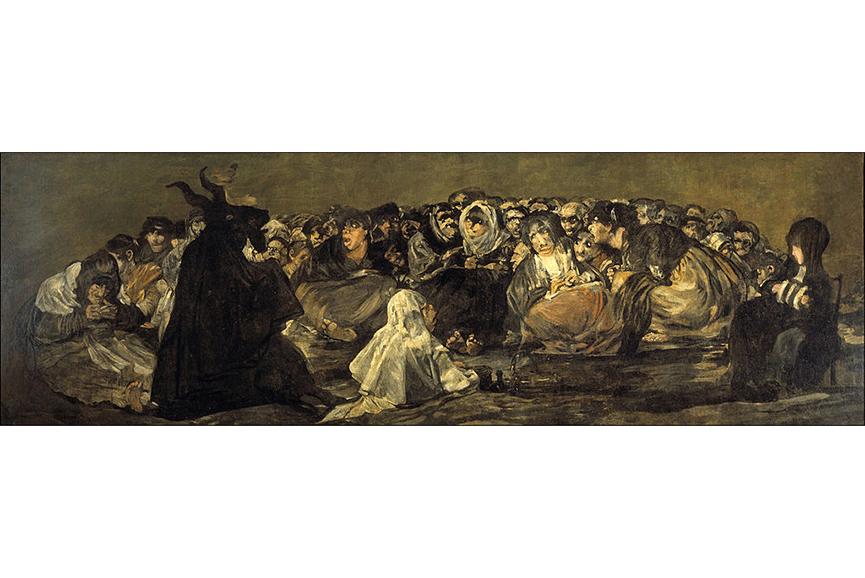Francisco Goya - El Aquelarre, between 1821 and 1823
