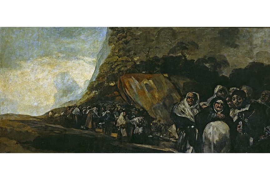 Francisco Goya - El Santo Oficio, between 1819 and 1823