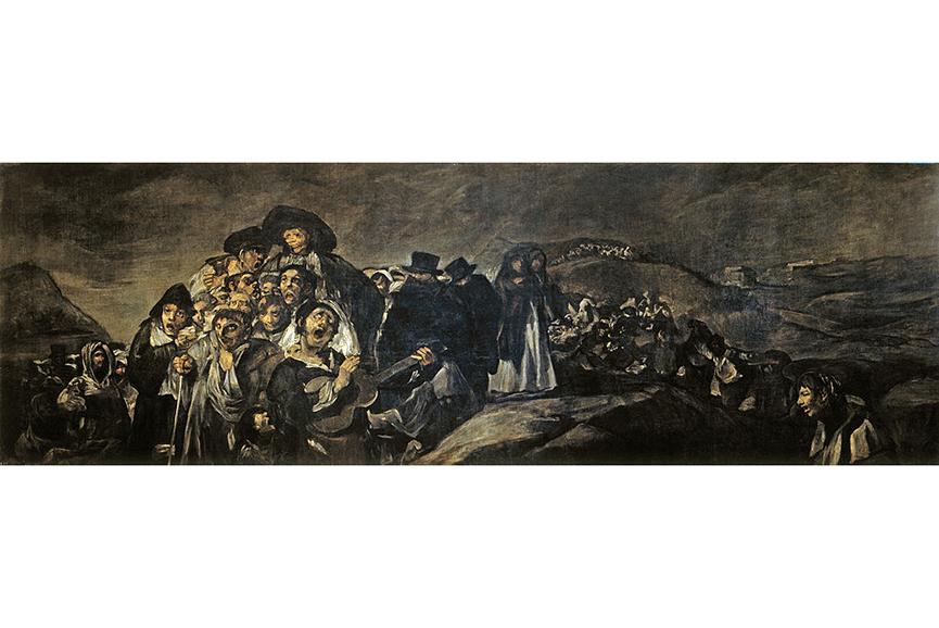 Francisco Goya - La romería de San Isidro, between 1819 and 1823