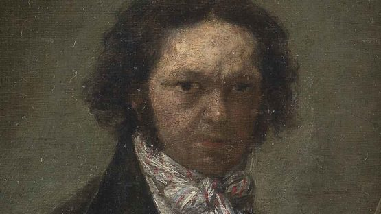 Francisco Goya - Self portrait (detail), 1796