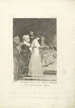 Francisco de Goya-Plate 2, from Los Caprichos-1799