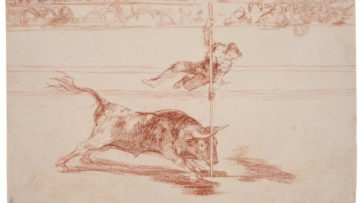 Francisco de Goya - Agility and audacity of Juanito Apinani