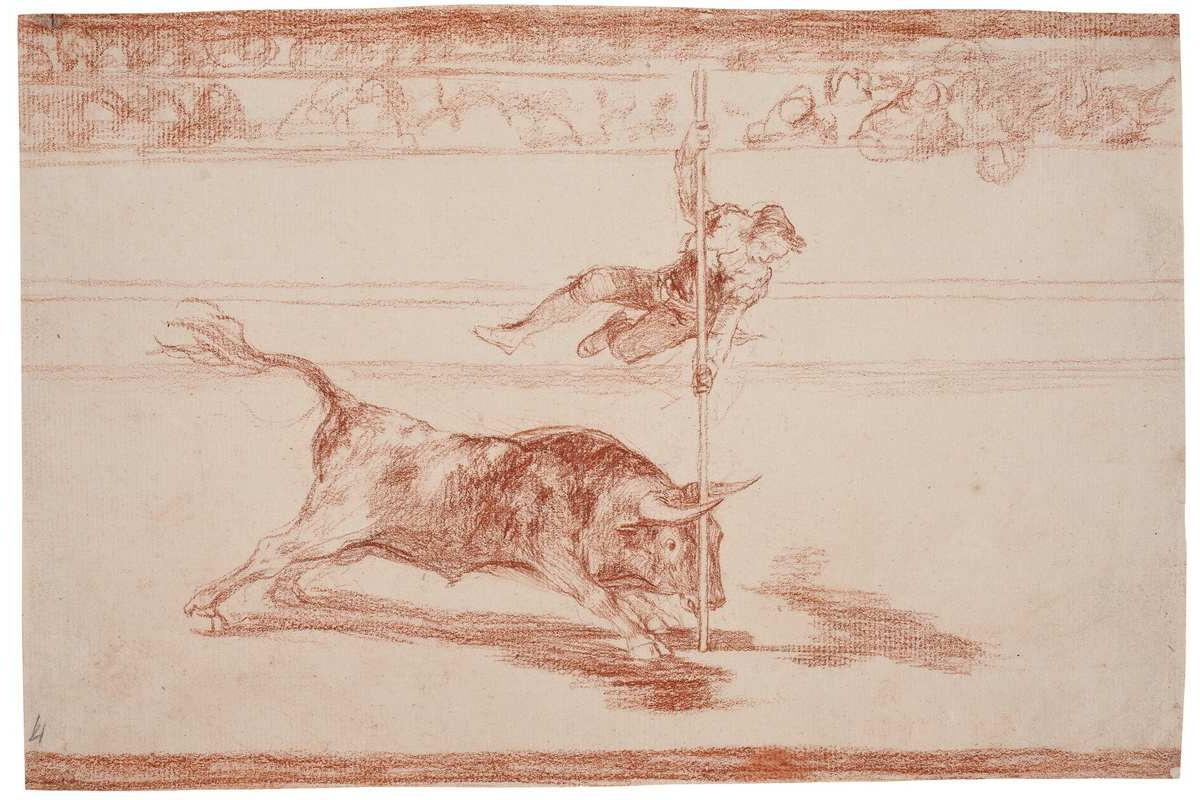 Francisco de Goya - Agility and audacity of Juanito Apinani