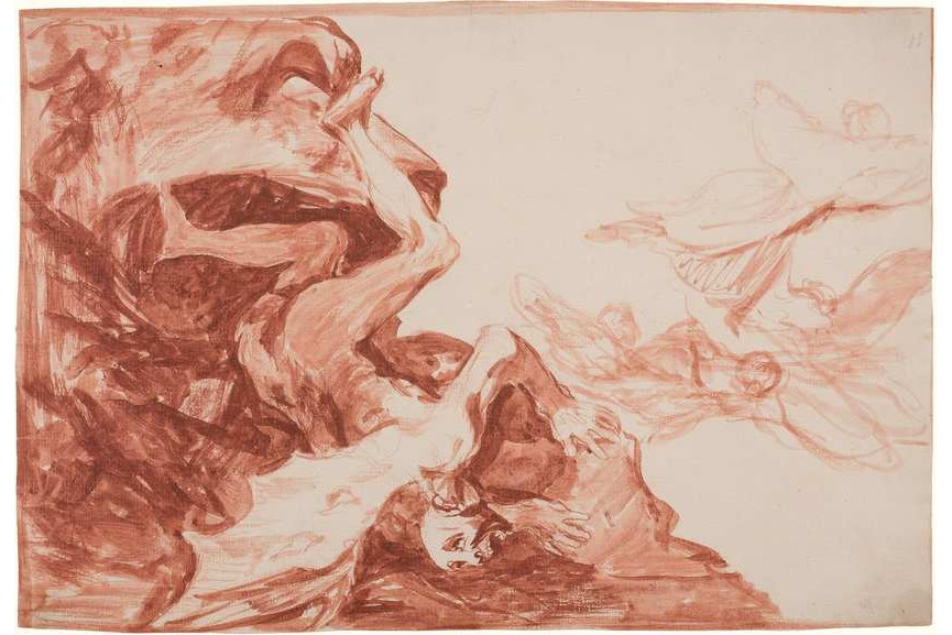 Francisco de Goya - Satan's Despair