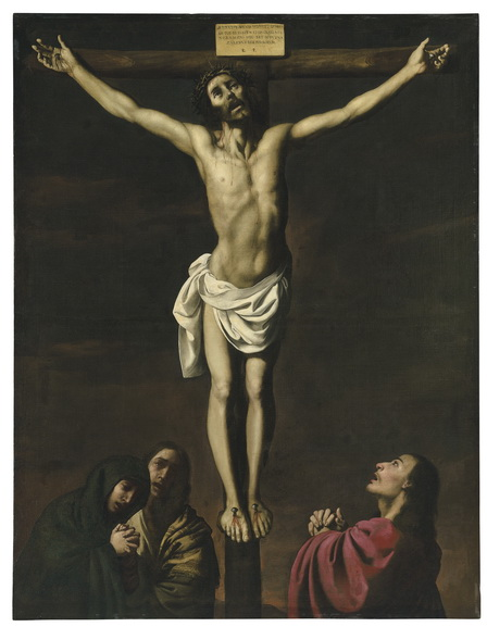 Francisco de Zurbaran - Christ on the Cross, with the Virgin and Saints Mary Magdalene and John the Evangelist