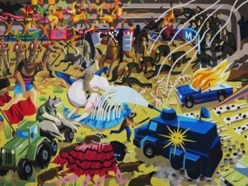Franco Fasoli - Pretension of Greatness, 2016
