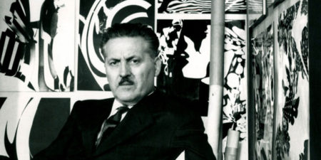 Franco Grignani - portrait of the artist
