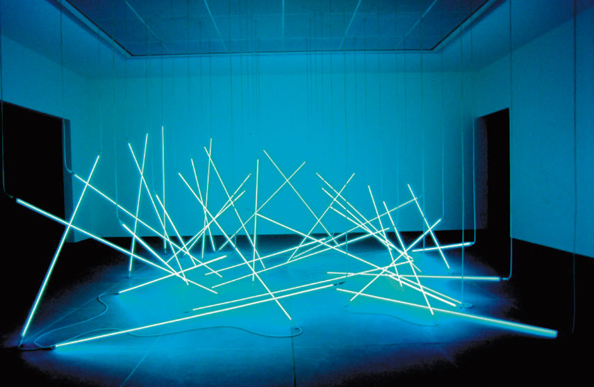 Francois Morellet - L'Avalanche, 1996, Image © François Morellet works french museum news centre cholet contact new