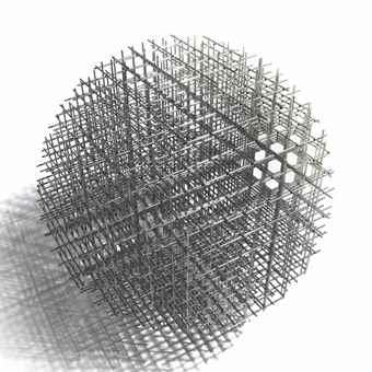 Francois Morellet-Sphere Trame-1962