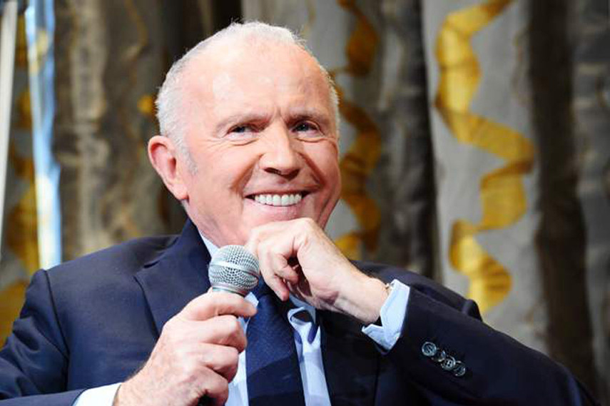 Francois Pinault at news conference in Paris