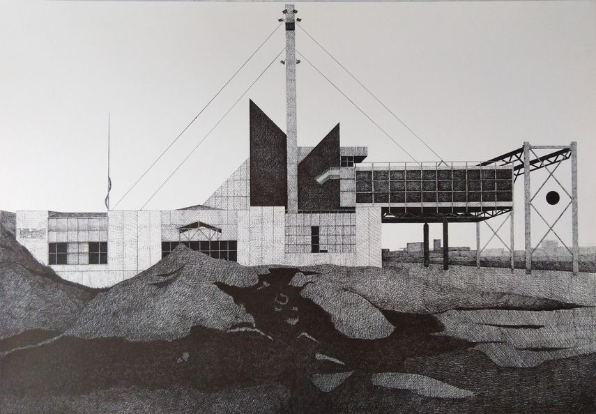 Francois Trocquet - Sans Titre, 2018, Le Salon du dessin contemporain