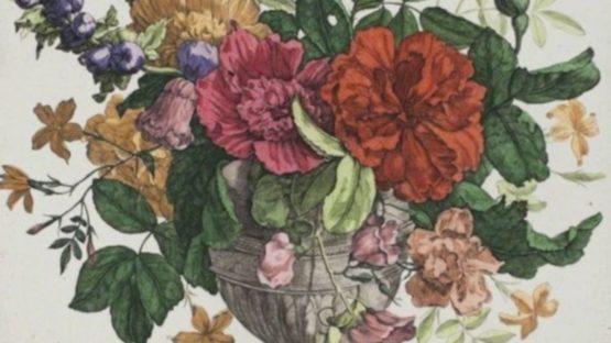 Francois de Poilly - Floral Bouquet (detail)