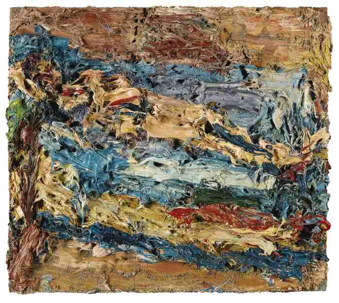 Frank Auerbach-E.O.W. On Her Blue Eiderdown Iv-1963