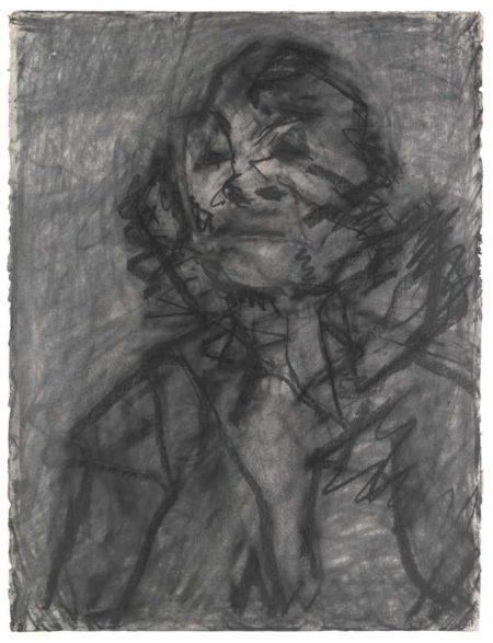 Frank Auerbach-Head Of Jym II-1980
