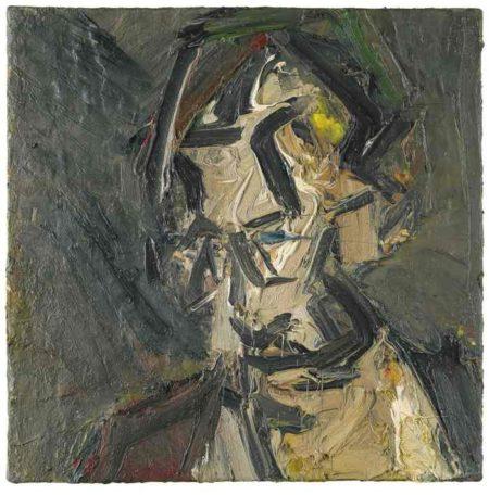 Frank Auerbach-Head Of Stephen Finer-1974